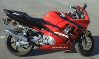Photo of a Honda CBR 600F3