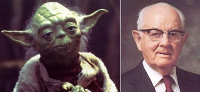 Yoda and Spencer W. Kimball