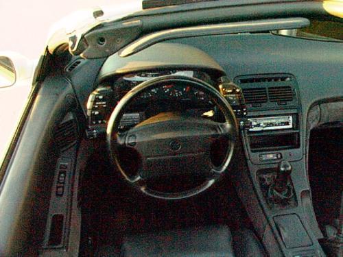 Sweet Long Hair Nissan 300zx Interior