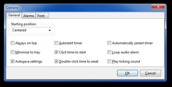 SnapTimer - Free Windows Countdown Timer