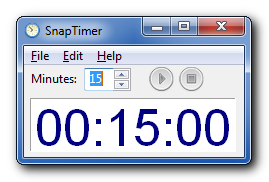 snaptimer free windows countdown timer